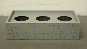 Office/Home/Garden Grey 3 Bay Perforated Planter Box 42958/01