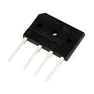 25A 1000V diode full bridge rectifier GBJ2510