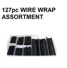 Am-Tech 127pc Heat Shrink Motorcycle Wiring Wire Wrap Assortment Insulation Set