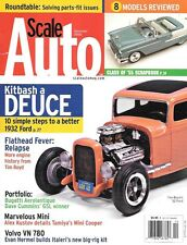 Scale Auto Enthusiast Dec 2005 Ford Flathead Engine Bugatti Aerolantique Volvo
