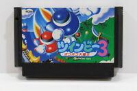 Twinbee 3 Nintendo FC Famicom NES Japan Import US Seller F2648
