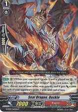 CARDFIGHT VANGUARD CARD: SEAL DRAGON, DOSKIN - G-BT07/069EN C
