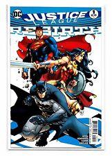 JUSTICE LEAGUE REBIRTH #1 - Joe Madureira Variant Cover - DC Comics!