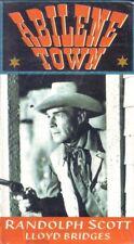 VHS: ABILENE TOWN...RANDOLPH SCOTT-RHONDA FLEMING.....NEW
