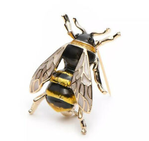 Bee Vintage Gold Pin Brooch D-4520