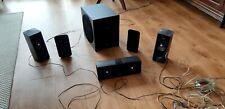 5.1 soundsystem Laurtsprecher mit Subwoofer Philipps gebraucht