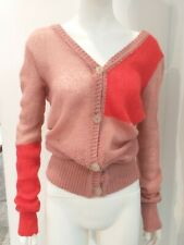 Vivienne Westwood Anglomania mohair cardigan punk grunge sweater orb M L 10 12