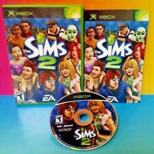 The Sims 2  - Microsoft Xbox OG Game Rare Complete 1-2 Players Tested -