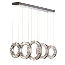 ET2 Lighting Charm 5 Light Linear Pendant, Polished Chrome - E30565-20PC