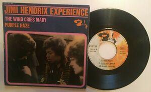 "Jimi Hendrix  "" the wind cries mary +3 "" 45 EP Original Barclay 071 157"