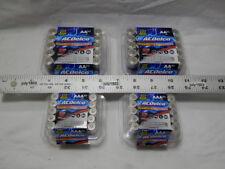 120 AC Delco 60 AA + 60 AAA Super Alkaline Batteries Bulk Lot acdelco Free Ship!