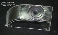 1954 Lincoln Park Light Lamp Lenses Left & Right NOS QUALITY