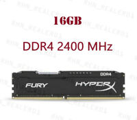 4GB 8GB 16GB DDR4 2133 2400 2666MHz For HyperX FURY DIMM Desktop RAM Memory Lot