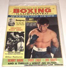 Boxing Illustrated Magazine 1960's