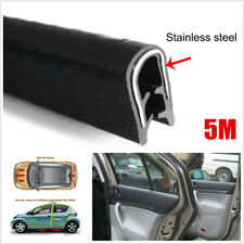 Universal High Quality Rubber Seal Weatherstrip Car Door Protector Edge Trim 5M