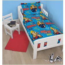 Fireman Sam Brave 4 in 1 Junior Cot Bed Boys Toddlers Bedding Bundle Set