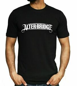 Alter Bridge Logo T-shirt Rock Music Band Concert Tee Unisex Fashion Top NEW