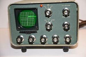 Heathkit SB-610 Vintage Tube Ham Radio Station Monitor - partially tested