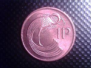 IRELAND    1 PENNY  1982  NICE COIN       OCT21