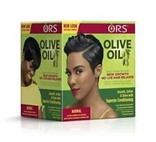 ORS Olive Oil New Growth No-Lye Hair Relaxer | Normal | Smooth, Soften & Shine