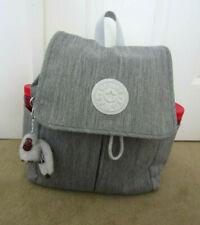 Kipling Ki1062 Rowan Nobelty Web Backpack Shaded Grey