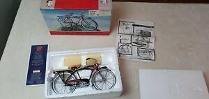 SCHWINN BLACK PHANTOM Vintage 1990 Die Cast MODEL Xonex 1:6 Scale Bicycle Bike