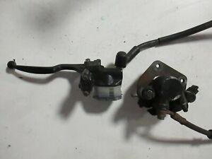 Komplette Bremsanlage vorne für Jincheng JC 125 (Baugleich mit Suzuki GN 125)