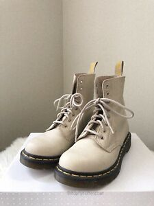 Dr. Martens Pascal Ivory Boots - Size 37