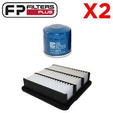 2 x WA5098 + WZ79 Wesfil Air & Oil Filter Kit Hyundai i30, i45 - A1561, Z79