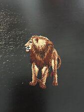 Lion Iron on Applique