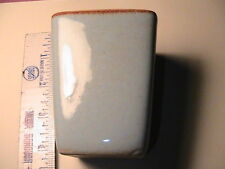 1941 VINTAGE  COLLECTIBLE VASE, BY S.BALLARD VERMONT ,SKY BLUE & BROWN  POTTERY