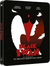 Black Swan Zavvi UK Exclusive Blu-Ray Embossed Rare Steelbook Brand New & Sealed
