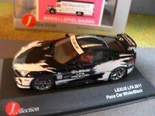 1/43 J-Collection Lexus LF A Pace Car schwarz/weiß 2011 20292*