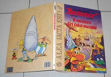 Libro Gioco ASTERIX Il mistero dei falsi menhir Mondadori 1 ed 1989 Librogame