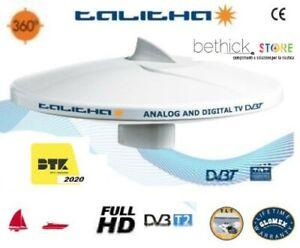 ANTENNA TV GLOMEX V9125-12 TALITHA OMNIDIREZIONALE TV DIGITALE TERRESTRE BARCA