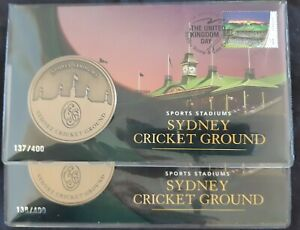 number 137 or 138  2019 Sydney Stamp & Coin Expo Sydney Cricket Ground Day2 PNC