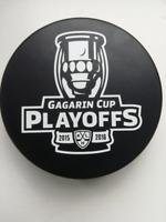 KHL Playoffs 2016,  Eishockey puck