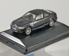 BMW M3 COUPE E92 in Black 1/76 scale model OXFORD DIECAST