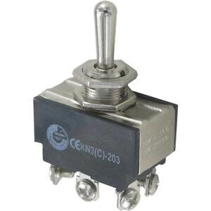 Kipptaster 2 x (EIN)-AUS-(EIN) 6A @ 250VAC R Last Polwendetaster Taster Schalter