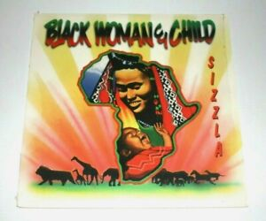 Sizzla – Black Woman And Child - LP, US Reissue, 2002, Brickwall - VPRL 1637