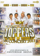 Toppers in Concert 2011 (Rene Froger, Gerard Joling, Gordon, Jeroen) (2 DVD)