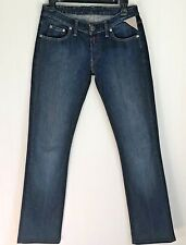 Replay Womens Jeans Size 28 Dark Sandblast Straight Leg Classic 5-Pocket Casual