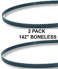 142x58x3tpi 2 Pack Boneless Bandsaw Blades Meat Cutting Fits Hobart 6801 New