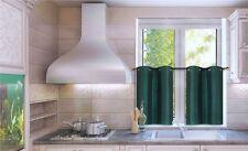 Kitchen Collection Window Dressing Curtain Panel Semisheer 2Pc Set N25 Hunter