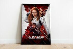 Black Widow 2021 Movie Poster Marvel Wall Art Maxi Prints New Films - 1928
