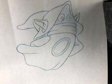 ORKO He-Man Master of the Universe Original Pencil Drawing Loot Crate April 2018