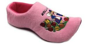 World of Clogs Dutch Clog Slippers in Pink
