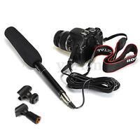 Pro Condenser Microphone Shotgun Mic For ALL DSLR Camcorder Video KTV DVD New