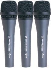 Sennheiser e835 3-Pack of Microphones Dynamic Cardioid Vocal Mics e 835 Set