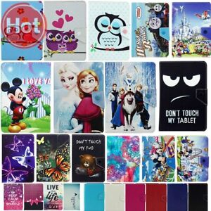 Universal PU Leather SUPERHERO Cartoon Stand Case Cover for AMAZON 7 & 10 Inch